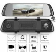 Camera Auto Oglinda Retrovizoare DOMDRIVE and reg Dubla DVR FHD Touchscreen Display 7 inch