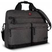 Maletin Para Laptop Swiss Brand Melbourne Briefcase-Gris