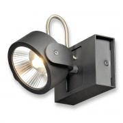 Lampa LED de perete sau tavan SLV Kalu LED 1 Negru 3000K 10W 660lm