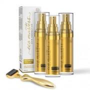 Eco Masters Bundle - Natural Skin Care Solution Set - With 3 Eco Masters Serums & 3 In 1 Derma Roller - ShytoBuy