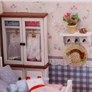 iiE Create KOCOZO Doll House Wooden Houses Miniature Dollhouse Furniture Kit
