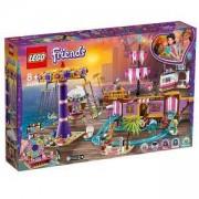 Конструктор Лего Френдс - Увеселителен кей Хартлейк Сити, LEGO Friends, 41375
