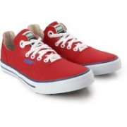 Puma Limnos CAT 3 DP Canvas Sneakers(Red)