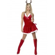 Costum Craciun Adulti Santa's Secret