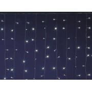 LED-es sorolható fényfüggöny, 2 x 3 m, IP44 DLF 600WW