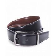 Miguel Bellido Cinturón clásico reversible Piel Negro/Marrón 105