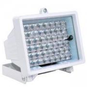 Прожектор за видеонаблюдение IR, 30 м, 30 градуса, 48 диода/10мм, QH-IR30