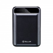 Baterie Externa Tellur Compacta, 10000 mAh, Negru