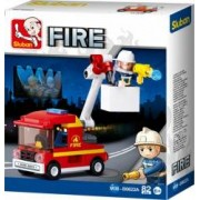 SLUBAN Set de constructie Masina de pompieri