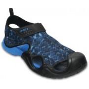 Crocs Men Blue Sports Sandals