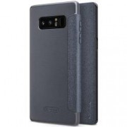 Husa Flip Book Nillkin Sparkle Leather pentru Samsung Galaxy Note 8 N950 dark grey
