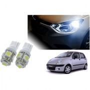 Auto Addict Car T10 5 SMD Headlight LED Bulb for Headlights Parking Light Number Plate Light Indicator Light For Chevrolet Matiz