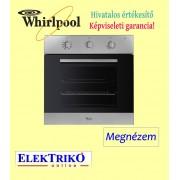 Whirlpool AKP 459 IX beépíthető sütő , A energiaosztály , ACTUAL design