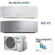 Daikin Climatizzatore Dual 2mxm50m + Emura White Ftxj25mw Wi-Fi + Emura Silver Ftxj35ms Wi-Fi 9+12