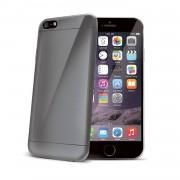 "Celly Custodia per iPhone 6 Plus 5.5"" Soft Cover TPU Ultrathin Grigio Smoke"