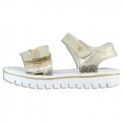 Sandale piele naturala copii, fete - alb, auriu, Melania - ME4030D9E-A-Gold