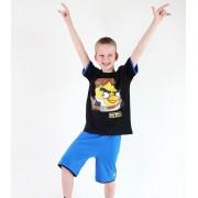 set chlapecký ( tričko,kraťasy) TV MANIA - Angry Birds / Star Wars - Black - SWAB 337