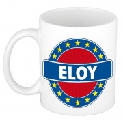 Bellatio Decorations Namen koffiemok / theebeker Eloy 300 ml