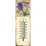Thermomètre mural Lavande