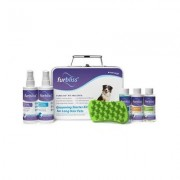 Furbliss Grooming & Bathing Long Hair Dog & Cat Starter Kit