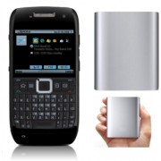 Combo of Nokia E71/Good Condition/Certified Pre-Owned (1 Year WarrantyBazaar Warranty)With iMi 10 400 Powerbank