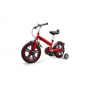 "SWAGSPIN LICENSED MINI COOPER KIDS BIKE 14"" RED"