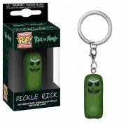 Pop! Keychain Rick and Morty Pickle Rick Pop! Vinyl Portachiavi