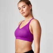Myprotein Brassière de sport Heartbeat - XL - Violet