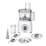 Кухненски робот Bosch MCM3100W, 20 функции, двустранен диск, заключване на капака и купата, SmartStorage, 800W, бял