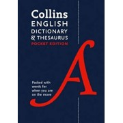 Collins English Dictionary and Thesaurus Pocket edition, Paperback/***