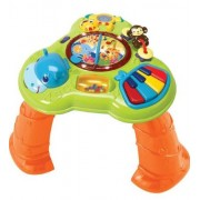 Bright Starts Safari Sounds Musical Learning Table, Multi Color