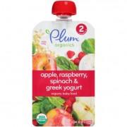Plum Organics Baby Food - Organic - Raspberry Spinach and Greek Yogurt - Stage 2 - 6 Months and Up -