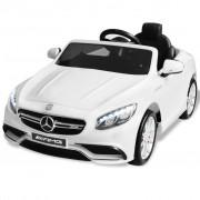 Sonata Акумулаторна кола Mercedes Benz AMG S63, бяла, 12V
