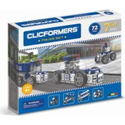Set de construit Clicformers-Politie 72 piese