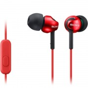 Casti Sony MDR-EX110AP Red