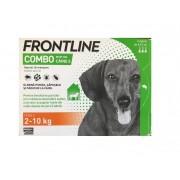 Frontline Combo caini 2-10 kg (S) - cutie cu 3 pipete