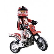 Playmobil City Action Motocross Rider 9357 Special Plus Item Set Driver Figur with Bike