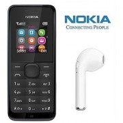 Nokia 105 / Good Condition/ Certified Refurbished ( 1 Year Warranty) with HBQ