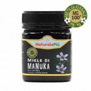 NaturalePiù Miele di Manuka 100+ MGO (UMF 8+) 250 grammi Puro e Naturale