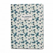 Planner Caderno Anual 20 Folhas - Verde escuro