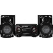 Sistem Audio Panasonic SC-AKX200E-K, CD Player MP3, Bluetooth, USB (Negru)