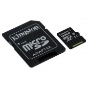 Micro SD Kingston 128GB class10 UHS-I SDXC (45MB/s)-DC10G2