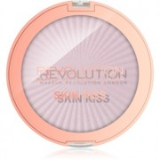 Makeup Revolution Skin Kiss iluminador para ojos y pómulos tono Pink Kiss 14 g