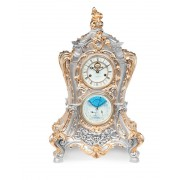 Ceas mecanic argint Baroque Gold