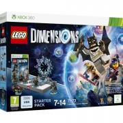 Warner Bros LEGO Dimensions: Starter Pack XBOX 360 Batman™, Gandalf™, Wyldstyle™, Batmobile™ (71173)