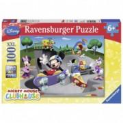 RAVENSBURGER puzzle (slagalice) - miki I prijatelji u skejt parku RA10871