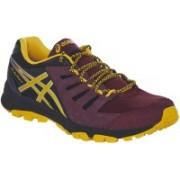 Asics Gel-Fujiattack 4 Men Running Shoes For Men(Brown, Yellow, Black)