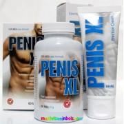 Penis XL Duo Pénisz Növelő 60 db tabletta és 50 ml Penis XL Duo Gél csomagban