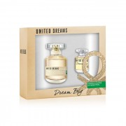 BENETTON UNITED DREAMS DREAM BIG EAU DE TOILETTE SPRAY 50ML SET 2 PEZZI 2015