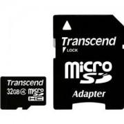 Transcend 32GB microSDHC (1 adapter - Class 4) - TS32GUSDHC4